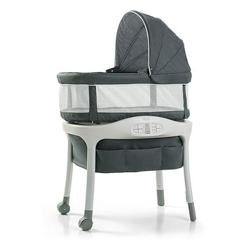 Graco Sense2Snooze Bassinet with Cry Detection Technology | Baby Bassinet Detects and Responds to Baby's Cries to Help Soothe Back to Sleep, Ellison