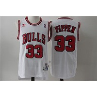 Chicago Bulls 33 Scottie Pippen Retro Swingman Jersey