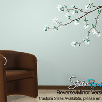 Vinyl Wall Decal Sticker Flower Tree Branch #832