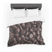 """Libertad Leal """"Yay! Chocolate"""" Candy Cotton Duvet"""
