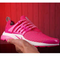 NIKE Women Fashion Running Sport Casual Shoes Sneakers Rose red G-MDTY-SHINING