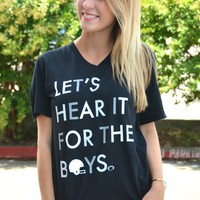 Let's Hear It For The Boys - Black