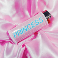 Grid Princess Bic Lighter Case Aesthetic