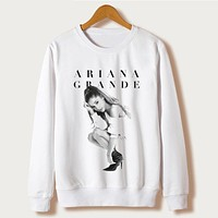 Women Sweatshirt  Autumn White Casual Clothing