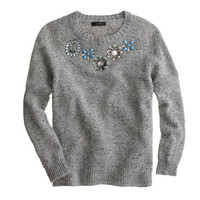 JEWELED DONEGAL SWEATER