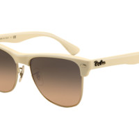 Ray-Ban RB4175 Oversized Clubmaster ® Sunglasses