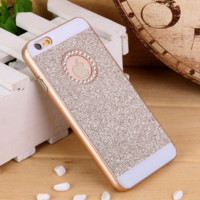Luxury Crystal Rhinestone Diamond Bling Hard Case Cover For iPhone 6s Plus 5.5""