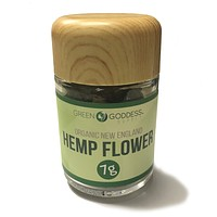 7g (one quarter) High Quality Hemp Flower Jar