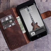 phone wallet gift for men personalized mens gift for women coworker gift boyfriend gift for him mens gift brother gift phone case leather