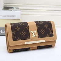 Tagre LV Women Leather Wallet Purse