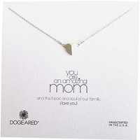 DOGEARED GOLD YOU ARE AN AMAZING MOM NECKLACE, PEAK HEART