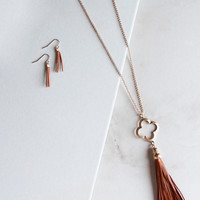 Homestead Necklace and Earring Set