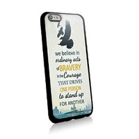 Doublesided Dauntless Manifesto Divergent for Iphone and Samsung Galaxy Case (iphone 6 plus black)