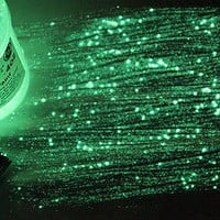 GREEN Extreme StarMaker Glow in the dark paint 4 oz pot , luminescent,