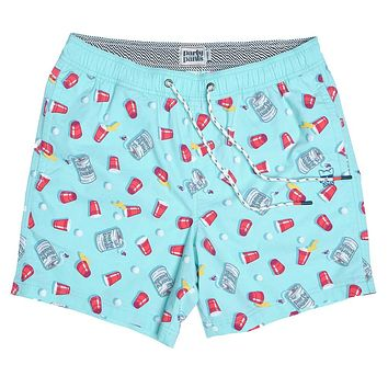 Kegger Swim Short by Party Pants