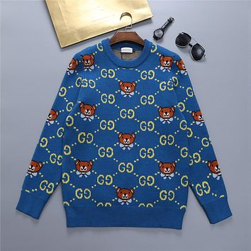 GUCCI GG Women's Knitted Double G Sweater