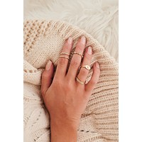 Amazing Moments Stackable Ring Set (Gold)