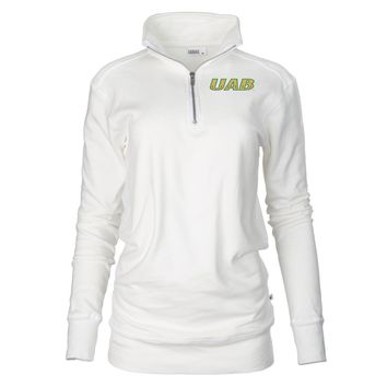 Official NCAA University of Alabama at Birmingham Blazers - PPUAB02 Unisex 1/4 Zip Up Fleece Pullover