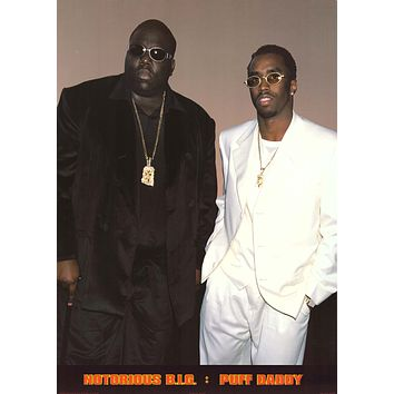 """Poster: Notorious BIG & Puff Daddy 24""""x33"""""""