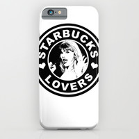 STARBUCKS LOVERS, valentines day iPhone & iPod Case by Lovejonny