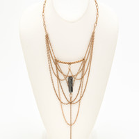 Overlapping Chain Necklace