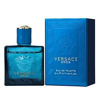 VERSACE EROS 5 ML EDT MINI FOR MEN 2 Pcs Gift Pack
