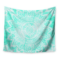 KESS InHouse Boho Flower Mandala by Nika Martinez Wall Tapestry