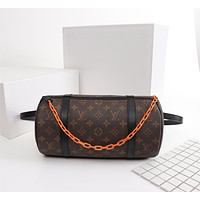 LV Louis Vuitton MONOGRAM CANVAS PAPILLON INCLINED SHOULDER BAG