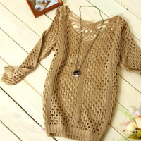 A 082704 Hollow sweater-232