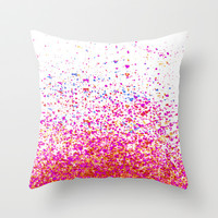 sparkles Throw Pillow by Marianna Tankelevich