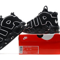 NK Air More Uptempo  Black Color Limited in Stock