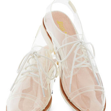 Rachel Antonoff for Bass Clear and Far Flat | Mod Retro Vintage Flats | ModCloth.com