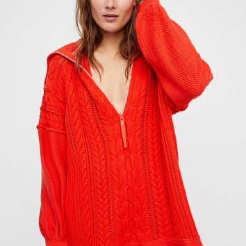 Free People Sunshine Slope Pullover