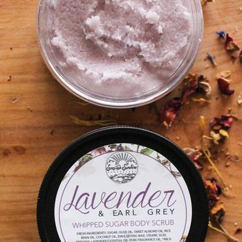 Lavender & Earl Grey - Whipped Sugar Scrub