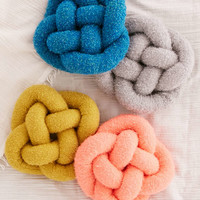 Cozy Knot Pillow - Urban Outfitters