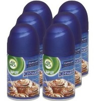 Air Wick Freshmatic Automatic Spray Air Freshener, Cinnabon Scent Refill, 6.17 Ounce (Pack of 6)