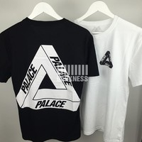 PALACE T Shirt Men Women 1:1 High Quality 100% Cotton Kanye West PALACE Skateboards Hip Hop Yeezy Thrasher Justin Bieber Top Tee