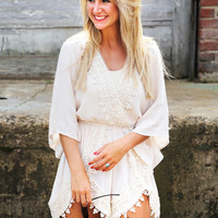 All Of You Romper {Ivory}