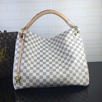 LV Louis Vuitton Fashion Women Shopping Bag Leather Shoulder Bag Crossbody Satchel