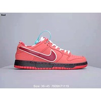 Nike SB Dunk Low x Concepts Jointly versatile casual low-top sneakers Red