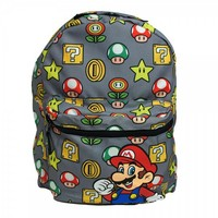 Nintendo Mushroom / Mario Reversible Backpack by Bioworld