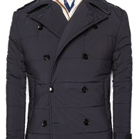 H.E.BY MANGO - NEW - Quilted peacoat