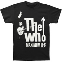Who Men's  T-shirt Black