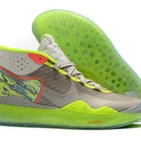 Nike Zoom Kevin Durant KD 12 EP - Fluorescent Green/Gray