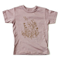 Nature Lover - Organic Toddler T-shirt by Susie Ghahremani / boygirlparty.com