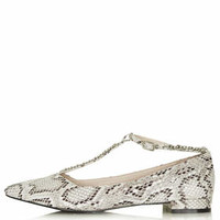 STEPNEY Chain Shoes - Taupe