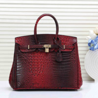 Hermes Women Leather Fashion Handbag Tote Crossbody Shoulder Bag