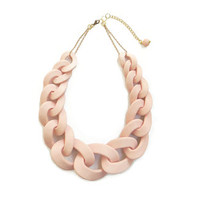 Pimk Chunky Chain Necklace, Chain Link Statement Necklace