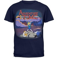 Adventure Time - Fionna On Mountain Soft T-Shirt