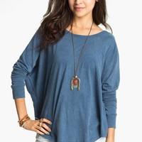 Project Social T Vintage Wash Batwing Top (Juniors) | Nordstrom